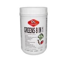 Olympian Labs verdes 8 en 1 arándano 775 G