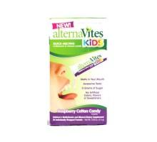 Alternavites niños fusión rápida multivitaminas frambuesa Cotton Candy (1 x 30 la cuenta)