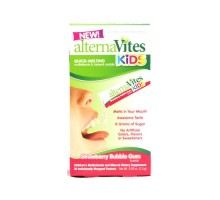 Alternavites Kids Quick-melting Multivitamins Strawberry Bubble Gum (1x30 Count)