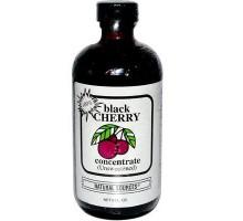 Fuente concentrado de cereza negra de la naturaleza (1 x 8 Oz)