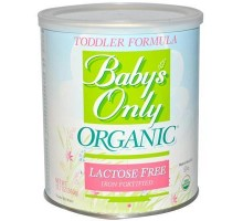 Baby's Only Lactose Free Toddler Form (6x12.7 Oz)