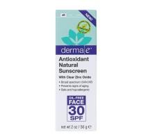 Cuidado de la piel Derma E aceite libre cara, antioxidantes Spf 30 (2 Oz)