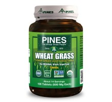 Pines International Organic Wheat Grass 500 Mg (1x100 Tablets)
