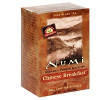 Té de té Numi desayuno chino negro (6 x bolsa de 18)