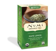Numi Tea Mate Lemon Green Tea (6x18 Bag)