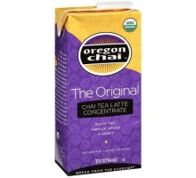 Oregon Chai Original Chai Tea Latte Conc (6 x 32 Oz)