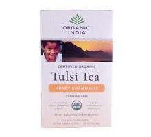 India Honey Chamomile Tulsi Tea (6x18 Ct)