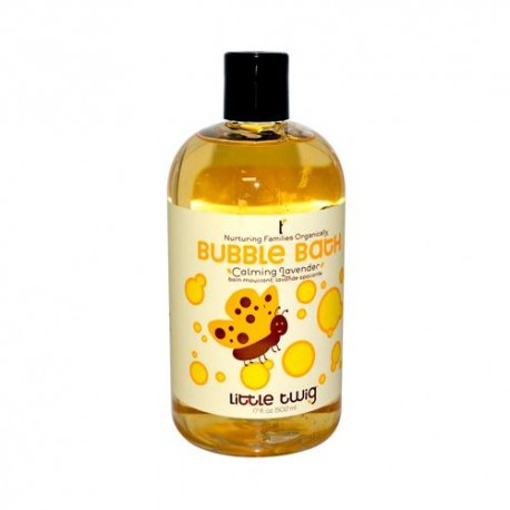Little Twig Bubble Bath Lavender 17 Fl Oz