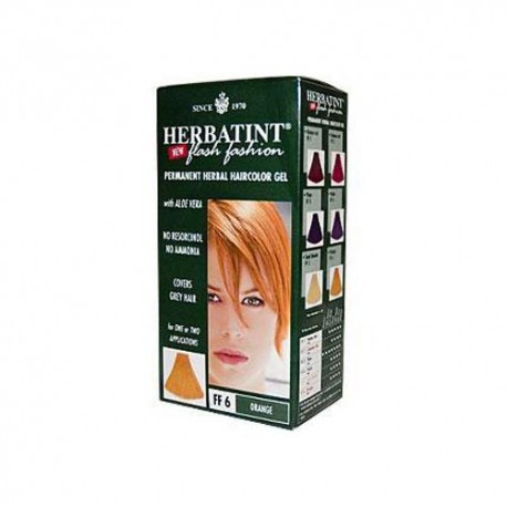 Herbatint Haircolor Kit Flash Fashion Orange Ff6 (1 Kit)