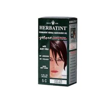 Herbatint Permanent Herbal Haircolour Gel 5c Light Ash Chestnut (1x135 Ml)