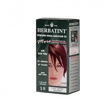 Herbatint Permanent Herbal Haircolour Gel 5r Light Copper Chestnut (1x135 Ml)
