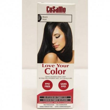Love Your Color Hair Color Cosamo Non Permanent Black (1 Count)