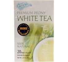 Príncipe de paz Peony blanco té (1 x 20 bolsa)