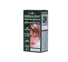 Herbatint Permanent Herbal Haircolour Gel 8c Light Ash Blonde 135 Ml
