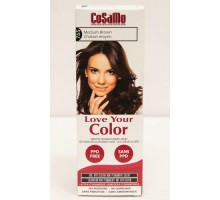 Love Your Color Hair Color Cosamo Non Permanent Medium Brown (1 Count)