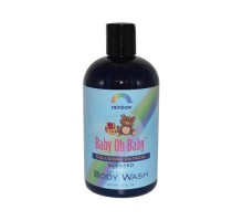 Rainbow Research Baby Oh Baby Organic Herbal Wash Colloidal Oatmeal Scented (12 Fl Oz)