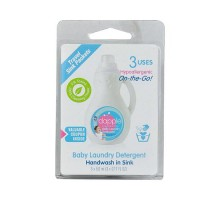 Dapple Baby Laundry Detergent Travel Sink Packets (3 Packets