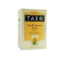 Té TAZO té blanco albaricoque vainilla (6 x 20 bolsa)