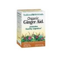 Té de hierbas medicinales tradicionales ayuda de jengibre (6 x 16 bolso)