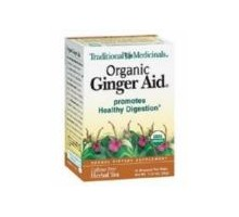 Traditional Medicinals Ginger Aid Herb Tea (6x16 Bag)