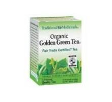 Medicinales tradicionales té verde con jengibre (6 x 16 bolso)