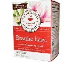 Medicinales tradicionales respiran fácil hierba té (6 x 16 bolso)