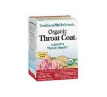 Traditional Medicinals Throat Coat Herb Tea (6x16 Bag)