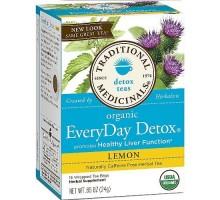 Té de hierbas tradicionales medicinales todos los días de desintoxicación (6 x 16 bolso)