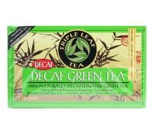 Triple hoja té el té verde descafeinado (6 x 20 bolsa)