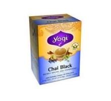 Yogui té de Chai negro (6 x 16 bolso)