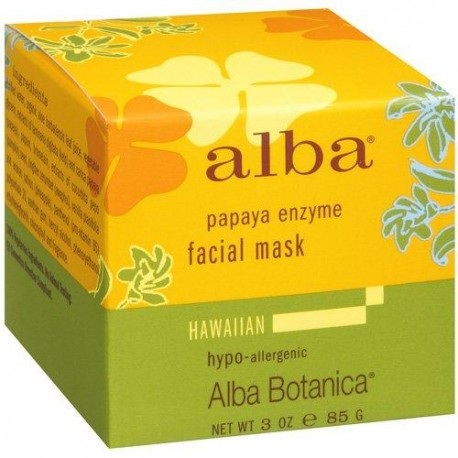 Alba Botanica Papaya enzima Máscara Facial (1 x 3 Oz)