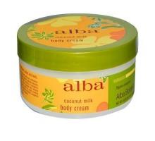 Alba Botanica crema para el cuerpo leche de coco (1x6.5 Oz)