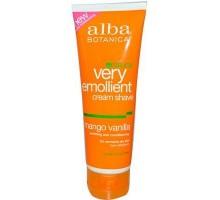 Alba Botanica Mango vainilla Shave Cream (1 x 8 Oz)