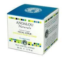 Andalou Naturals limón azúcar exfoliante Facial (1x1.7 Oz)