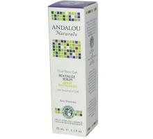 La célula de vástago de Andalou Naturals frutas revitalizar suero (1x1.1 Oz)