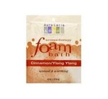 Aura Cacia canela y baño de espuma de Ylang Ylang (6x2.5 Oz)
