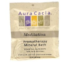 Aura Cacia meditación baño Mineral (6x2.5 Oz)