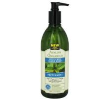 Avalon menta líquida glicerina jabón de manos (1 x 12 Oz)