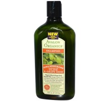 Avalon Moisturizing Olive & Grape Shampoo (1x11 Oz)
