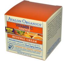 Avalon crema renovadora de la vitamina C (1 x 2 Oz)