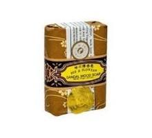 Abeja y flor de sándalo abeja y jabón de la flor (4x4.4 Oz)