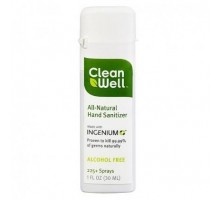 Spray desinfectante de mano Cleanwell (24 x 1 Oz)