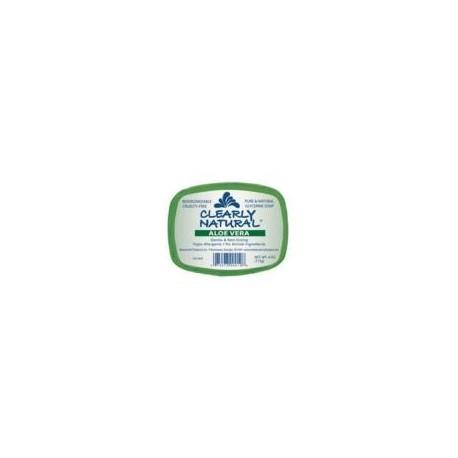 Claramente Naturals jabón de Aloe Vera (1 x 4 Oz)