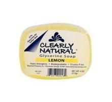 Claramente limón Naturals jabón (1 x 4 Oz)
