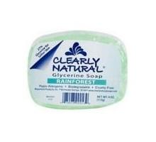 Claramente Naturals jabón de la selva (1 x 4 Oz)