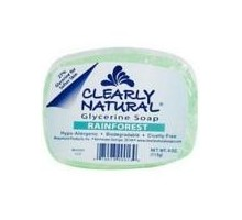 Clearly Naturals Rainforest Soap (1x4 Oz)
