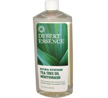 Enjuague bucal desierto esencia Tea Tree aceite (1 x 16 Oz)