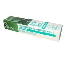 Crema dental desierto esencia té árbol Neem Wintergreen (1x6.25 Oz)