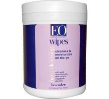 EO los productos lavanda desinfectante toallitas (Ct 1 x 210)