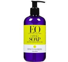 EO productos limón y jabón para manos de eucalipto (1 x 12 Oz)